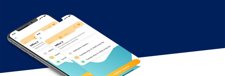 Efficiënt schoonmaken met de mycleanworkspace app